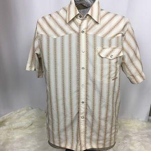 Billabong Men's Vintage Style Slim Fit Shirt, Sz M